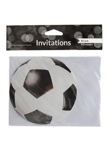Futbol Topu 8'li Davetiye-Parti Dünyası
